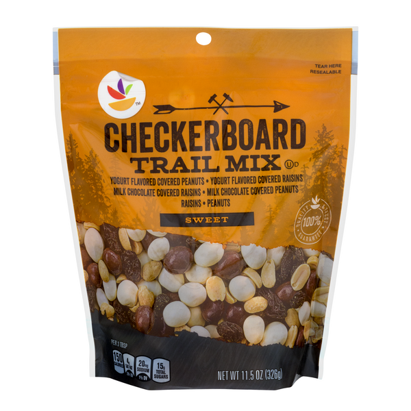 Stop & Shop Checkerboard Trail Mix Sweet