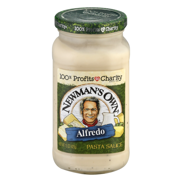 Newman's Own Pasta Sauce Alfredo All Natural