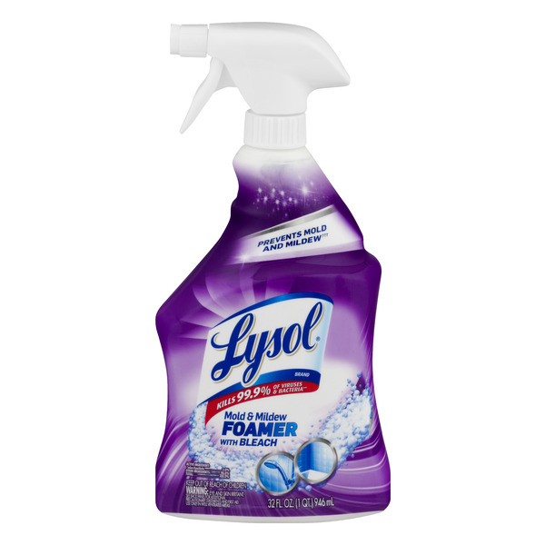 Lysol Mold & Mildew Foamer with Bleach Trigger Spray
