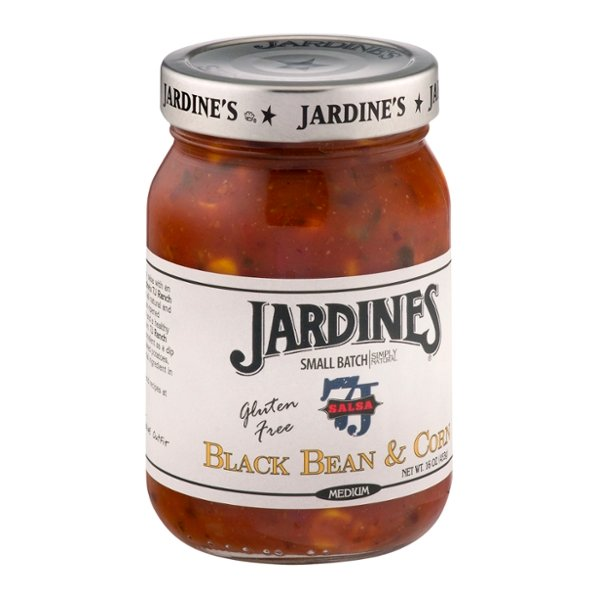 Jardines 7J Salsa Black Bean & Corn Medium