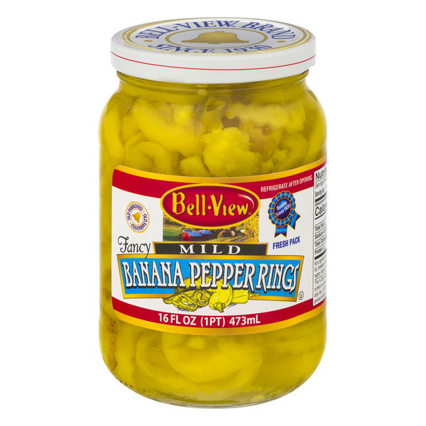Bell-Viev Banana Pepper Rings Mild