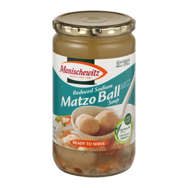 Manischewitz Matzo Ball Soup Reduced Sodium Kosher for Passover