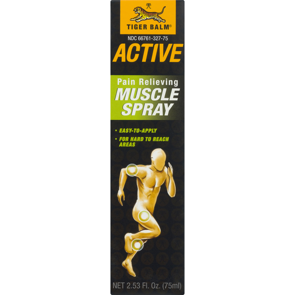 Tiger Balm Active Pain Relieving Muscle Spray