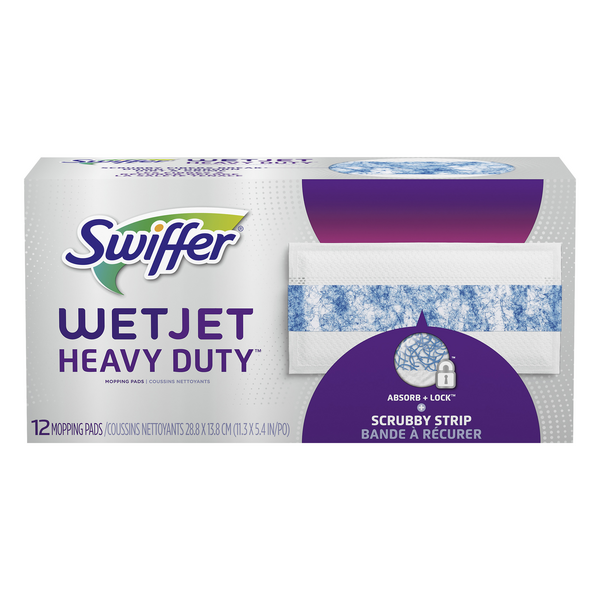 Swiffer WetJet Heavy Duty Mopping Pads Refill