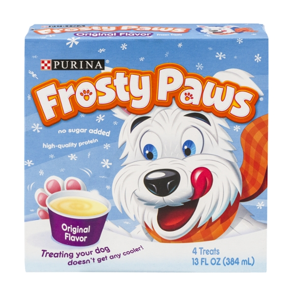 Purina Frosty Paws Treats for Dogs Original - 4 ct Frozen