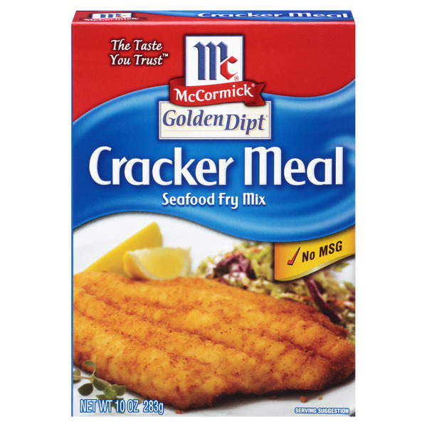 McCormick Golden Dipt Cracker Meal Seafood Fry Mix