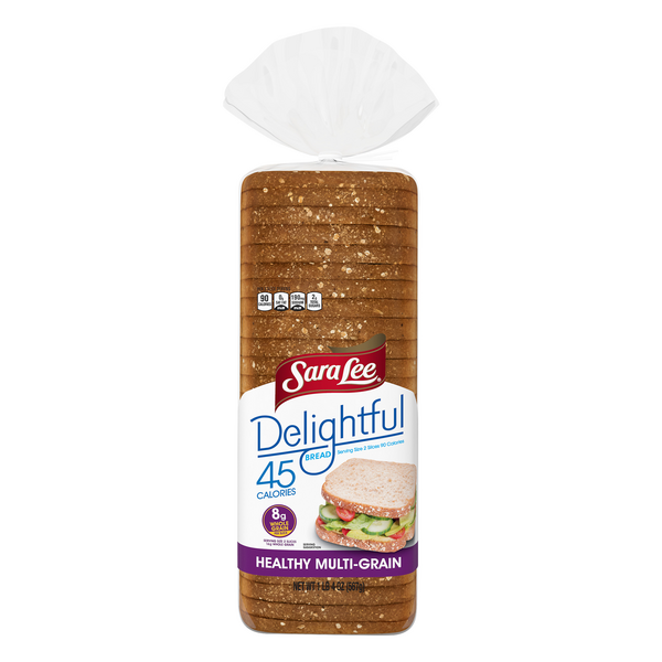 Sara Lee Delightful 45 Calories Healthy Multigrain Bread Keto Friendly