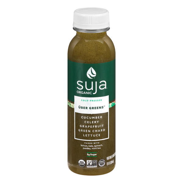 Suja Uber Greens Fruit & Vegetable Juice Drink Organic