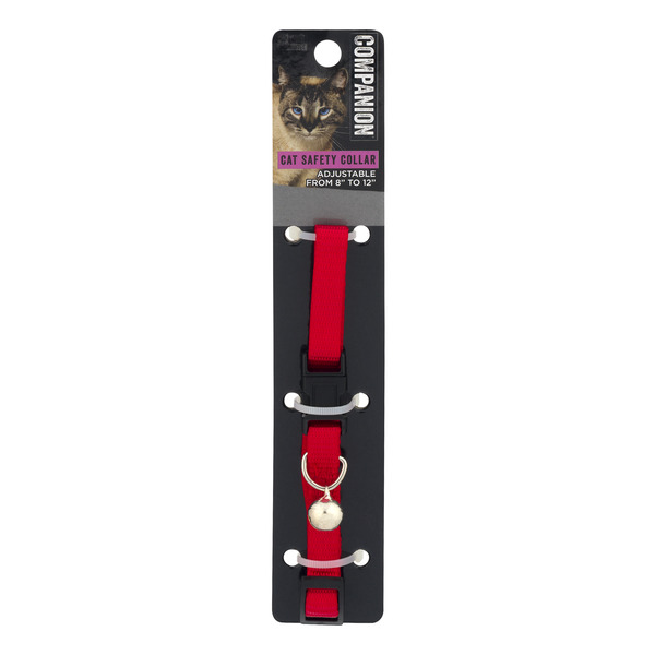 Companion Essentials Cat Safety Collar with Bell Adjustable