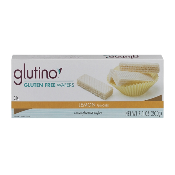 Glutino Wafers Lemon Gluten Free