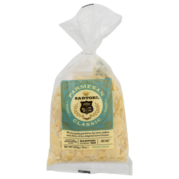 Sartori Classic Parmesan Cheese Shaved