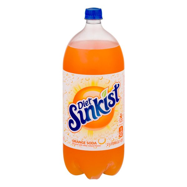 Sunkist Orange Soda Diet