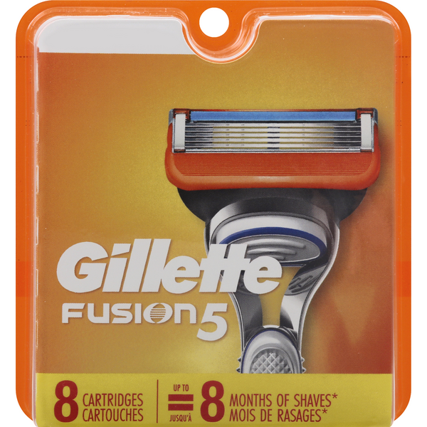 Gillette Fusion5 Power Refill Cartridges 5 Blade + 1 Trimmer