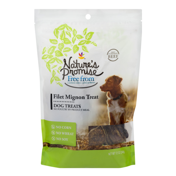 Nature's Promise Dog Treats Filet Mignon