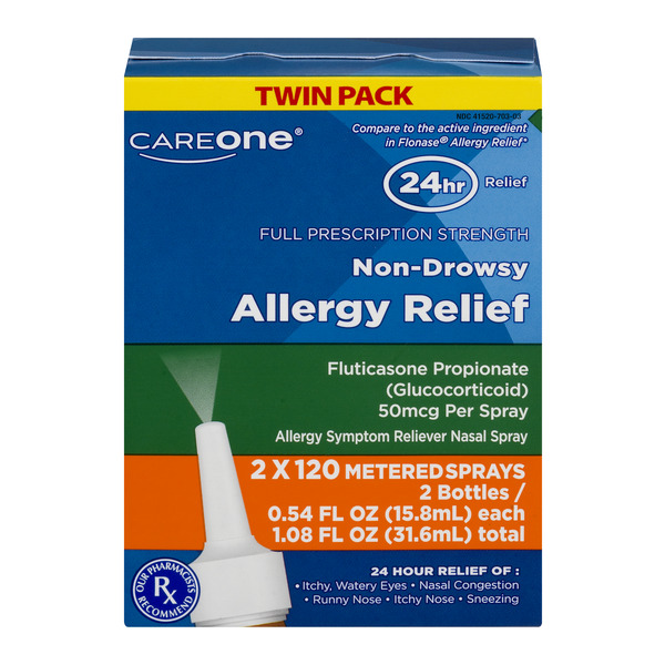 CareOne Non-Drowsy Allergy Relief Nasal Spray