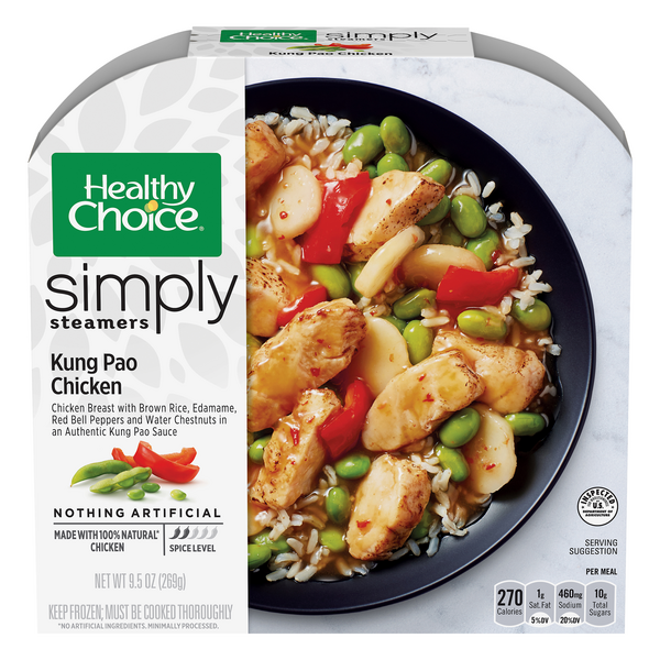 Healthy Choice Simply Steamers Kung Pao Chicken