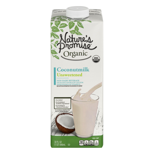 Nature's Promise Organic Coconut Milk Unsweetened