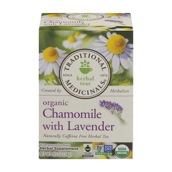 save on traditional medicinals chamomile with lavender
