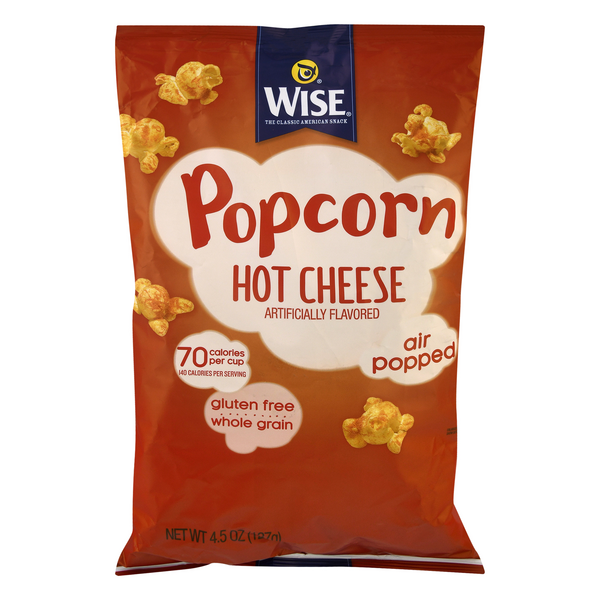 Wise Popcorn Hot Cheese Gluten Free