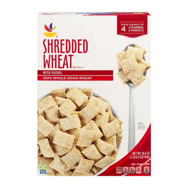 Giant Shredded Wheat Cereal Bite Size 100% Natural