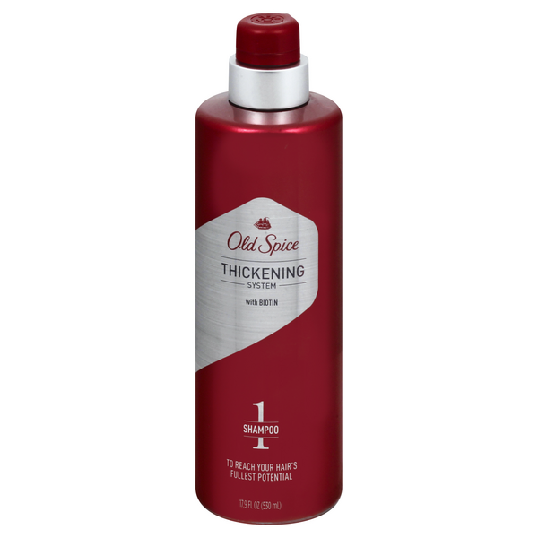 Old Spice Thickening System with Biotin Shampoo 1