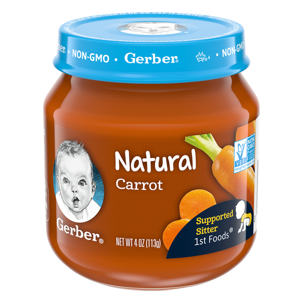 Gerber 1st Baby Food Carrot Natural
