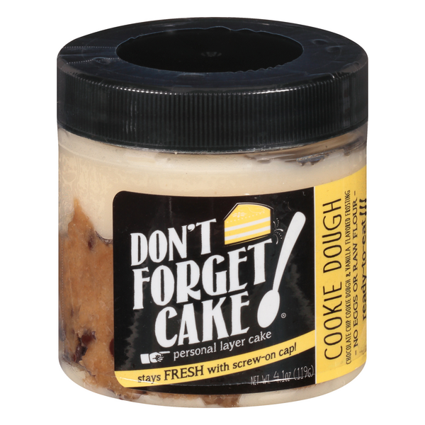 Don't Forget Cake Personal Layer Cake Cookie Dough