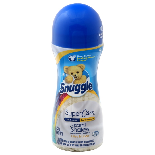Snuggle SuperCare Scent Shakes In-Wash Scent Booster Lilies & Linen