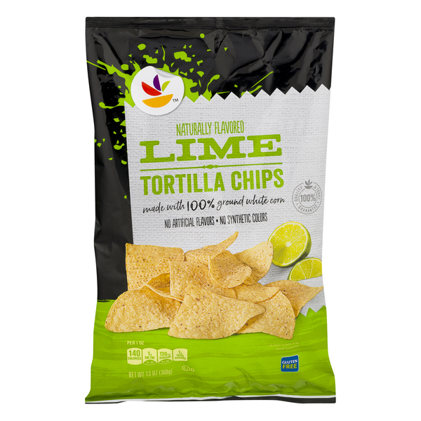 Store Brand Tortilla Chips Lime Gluten Free