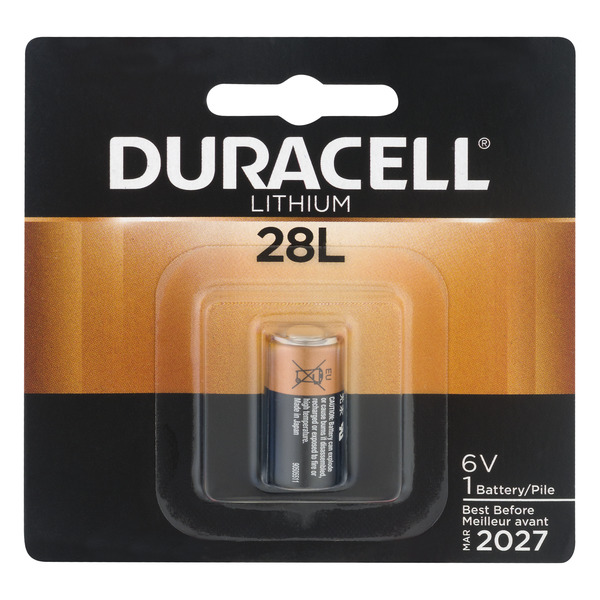 Duracell Lithium 28L Battery