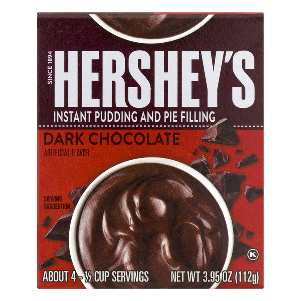 Hershey Instant Pudding & Pie Filling Dark Chocolate