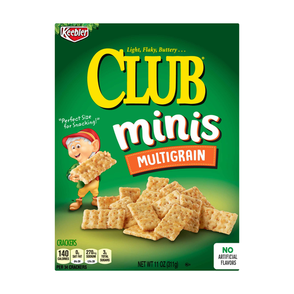 Keebler Club Crackers Minis Multigrain
