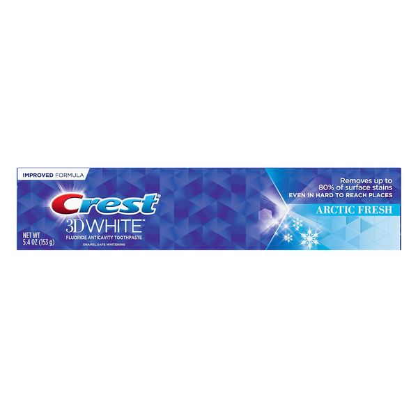 Crest 3D White Anticavity Fluoride Toothpaste Arctic Fresh