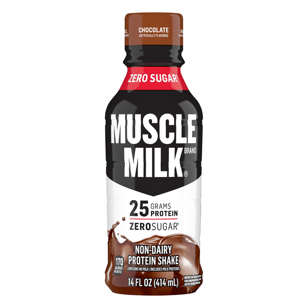 Muscle Milk Protein Nutrition Shake Chocolate Dairy Free