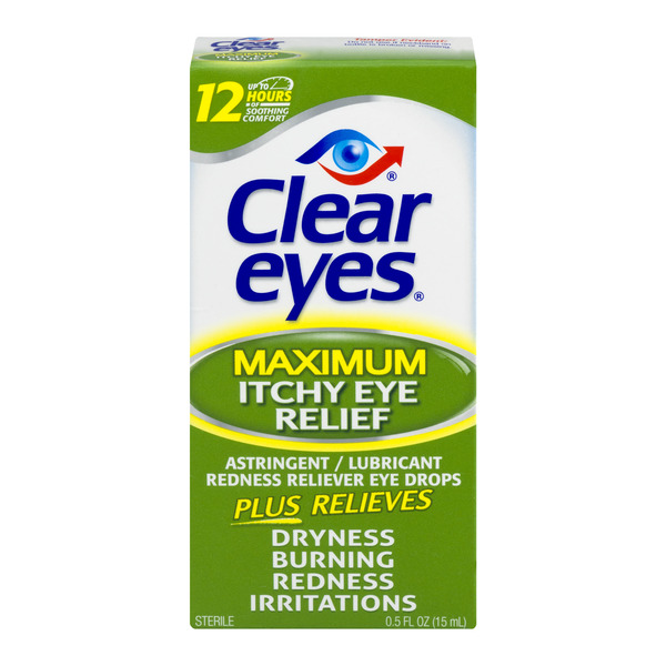 Clear Eyes ACR Allergy Relief Eye Drops