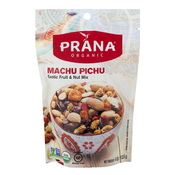 Prana Exotic Fruit & Nut Mix Machu Pichu Gluten Free Organic