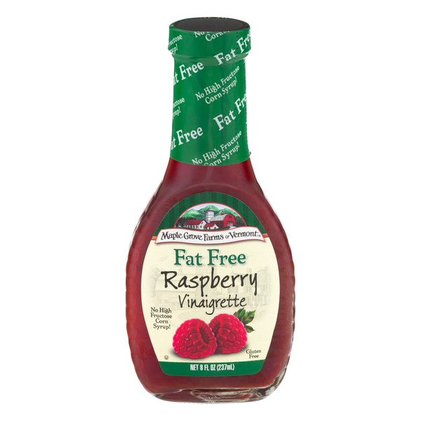 Maple Grove Farms Raspberry Vinaigrette Dressing Fat Free