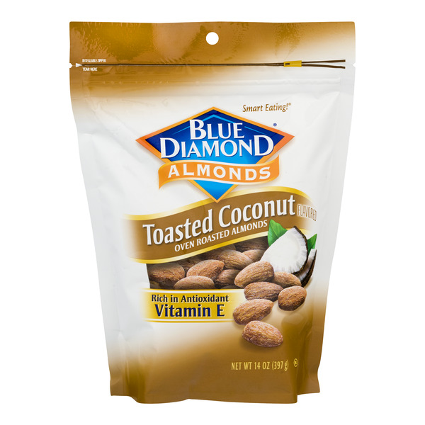 Blue Diamond Almonds Toasted Coconut Oven Roasted Almonds