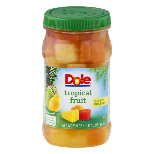 Dole Tropical Fruit in 100% Fruit Juice