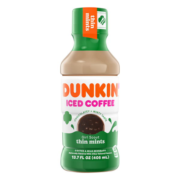 Dunkin' Iced Coffee Girl Scout Thin Mints