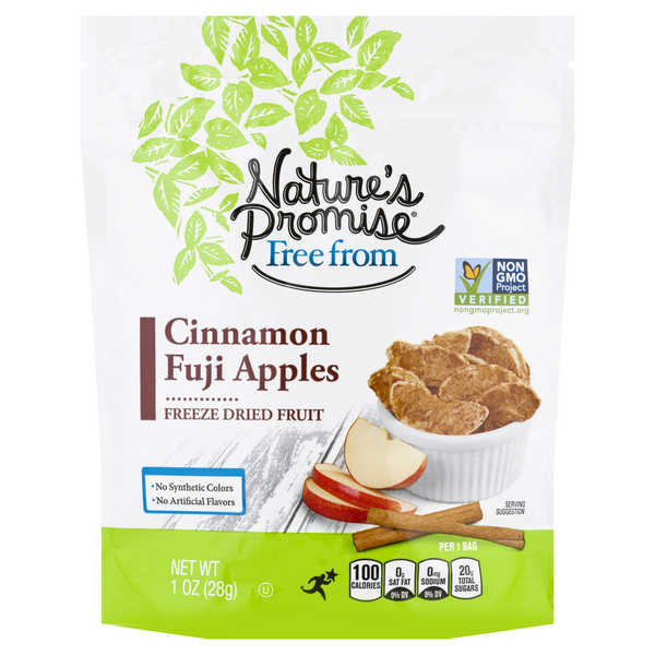 Nature's Promise Free from Freeze Dried Fruit Cinnamon Fuji Apple