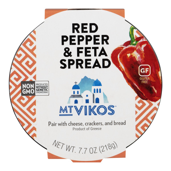 Mt. Vikos Spread Red Pepper & Feta