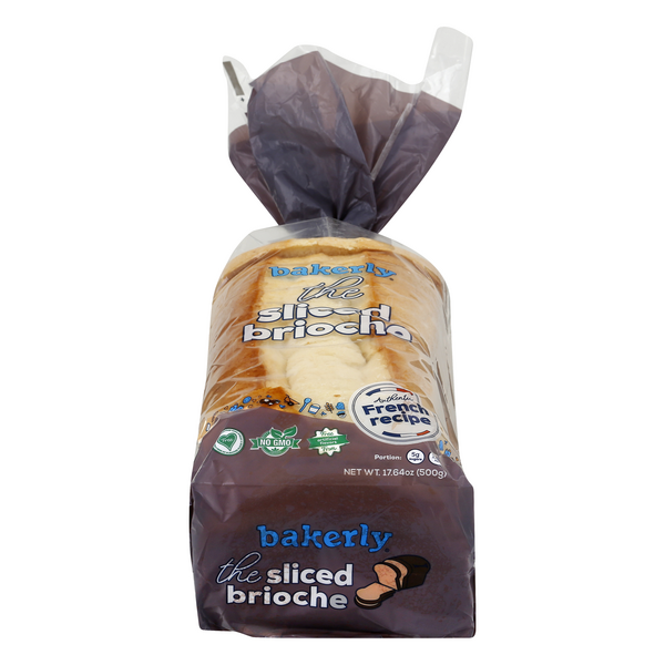Bakerly Brioche Sliced Frozen
