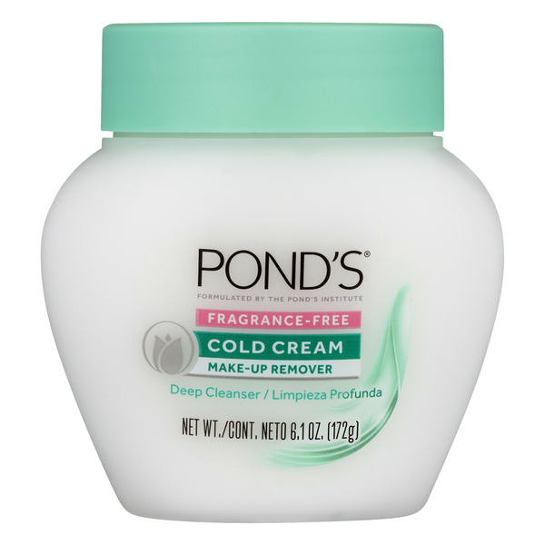 Pond's Cold Cream Make-Up Remover Fragrance-Free