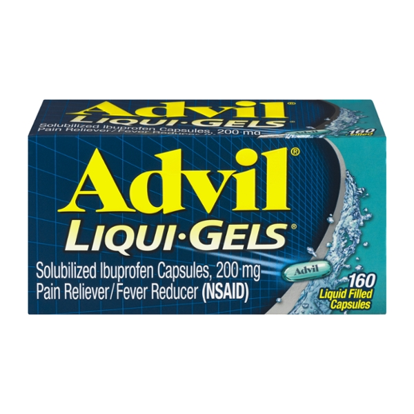 Advil Ibuprofen Pain Relief 200 mg Liqui-Gels