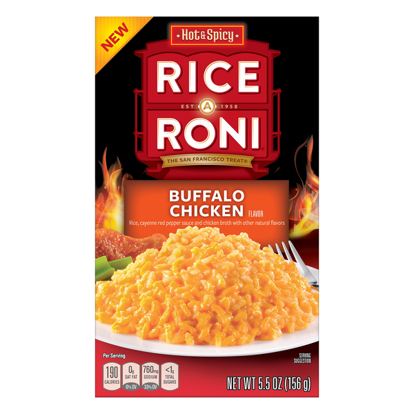 Rice A Roni Hot & Spicy Buffalo Chicken