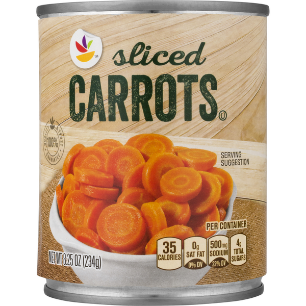 GIANT Sliced Carrots