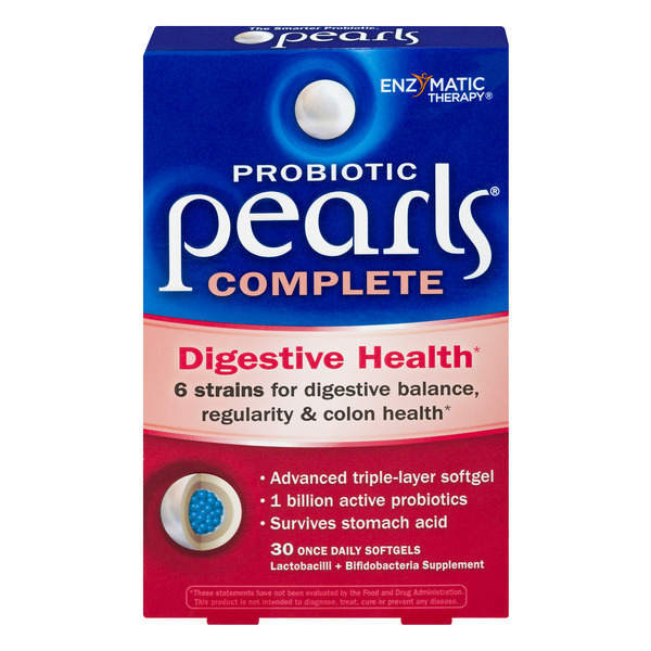 Enzymatic Therapy Probiotic Pearls Complete Digestive Health
