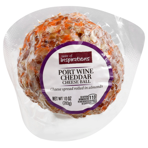 Taste of Inspirations Cheddar Cheese Ball Port Wine