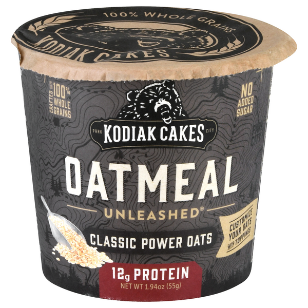 Kodiak Cakes Oatmeal Unleashed Classic Power Oats